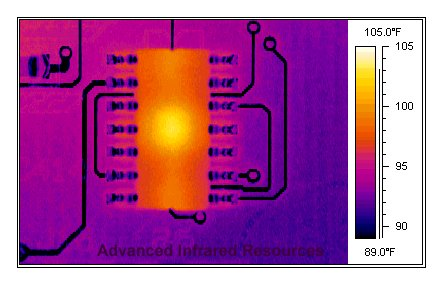 Infrared Thermography pcb2.jpg (28536 bytes)