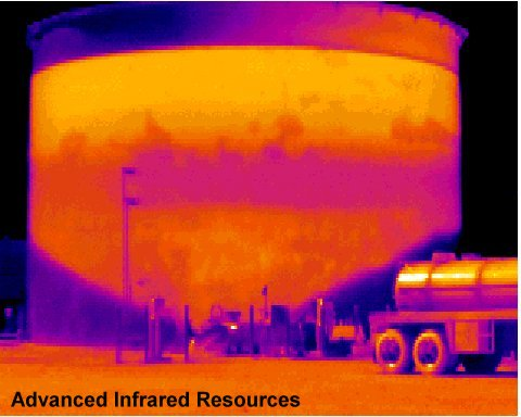 Infrared Thermography tank.jpg (34463 bytes)